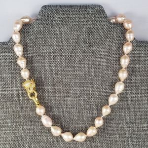 REAL - 13mm Peach Pearl Necklace